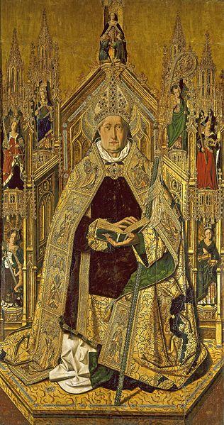 Archivo:Santo Domingo de Silos (Bartolomé Bermejo).jpg