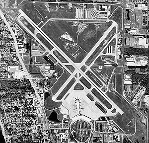 Sarasota–Bradenton International Airport - USGS 1998 orthophoto