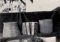 Sarawak; three corsets worn by native Sea Dayak and Land Day Wellcome V0037475.jpg