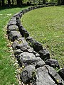 Sarmizegetusa Regia-detaliu zid.jpg