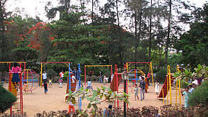 Sawantwadi taluka - Image: Savantwadi garden 4