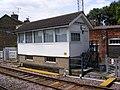 Saxmundham Signal Box - geograph.org.uk - 1437810.jpg