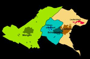 Schallstadt - Map of Schallstadt