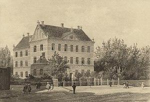 Schneekloths Skole - Schneekloths Skole in 1904