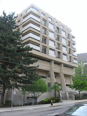 University of Pittsburgh School of Computing and Information - Information Sciences Building