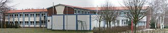 Cambs, Germany - Image: Schule Cambs Panorama
