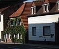 Schwetzingen begrünte Hausfassade 2011.JPG