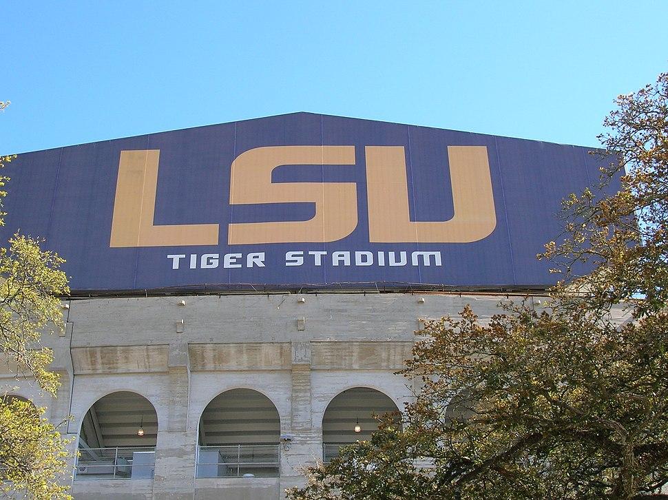 Scoreboard, Louisiana State University