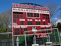 Scoreboard at McGillicuddy Stadium 2011.JPG