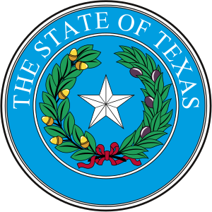 English: Seal of Texas