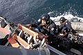 Search and Seizure (VBSS) Team from the Indian Navy Delhi-class guided missile destroyer INS Mysore (D 60), board the U.S. Navy guided missile cruiser USS Cowpens (2).jpg