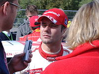 Sébastien Loeb, the world's most successful rally driver in terms of WRC wins.
