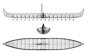 Sebbe Als - Hull drawing of Sebbe Als.
