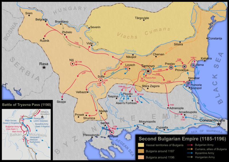 800px-Second_Bulgarian_Empire_(1185-1196