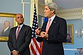 Secretary Kerry and Haitian President Martelly Address Reporters (12325085055).jpg