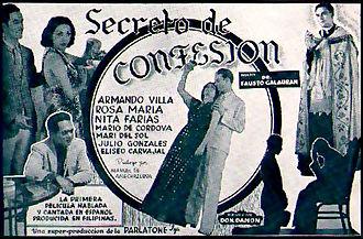 Secreto de confesión - Image: Secreto de confesion