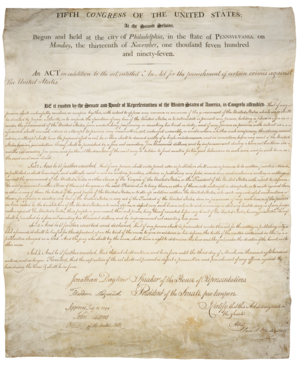 Alien and Sedition Acts - Text of the Sedition Act