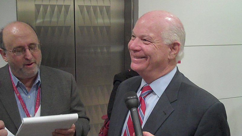 File:Sen. Cardin speaking to reporters after the panel (4033105202).jpg