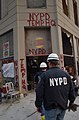 September 11th NYPD TEMP HQ Burger King WTC New York City.jpg