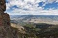 Sepulcher Mountain summit views of Gardiner, MT (48080339022).jpg