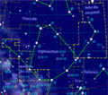 Serpens constellation map-fr.png