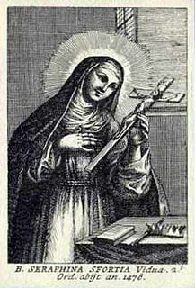 Seraphina Sforza Italian beatified person