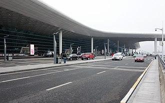 Shenzhen Bao'an International Airport - New Terminal exterior