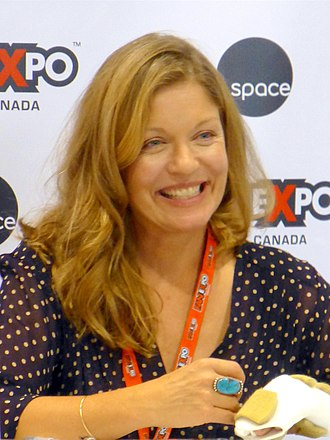 Sheryl Lee - Lee at the Fan Expo Canada 2014