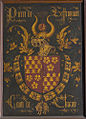 Shield of Pierre de Bauffremont, comte Charny as knight of the Order of the Golden Fleece.jpg