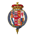 Shield of arms of George Sutherland-Leveson-Gower, 2nd Duke of Sutherland, KG.png