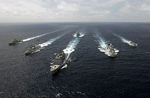 Standing NATO Maritime Group 1 - Image: Ships of Standing NATO Maritime Group 1