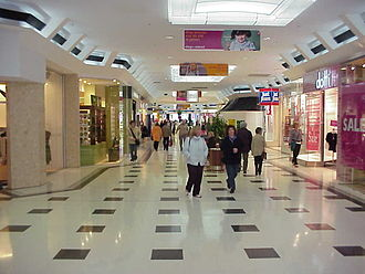 Westfield Geelong - One of the centre's original arcades.