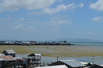 Guiuan, Eastern Samar - Guiuan's shoreline