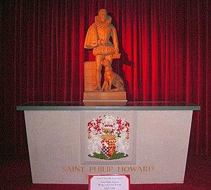 Philip Howard, 20th Earl of Arundel - Shrine of St Philip Howard