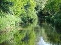 Shropshire Union Canal approaching Tyrley Locks, Staffordshire - geograph.org.uk - 1606246.jpg