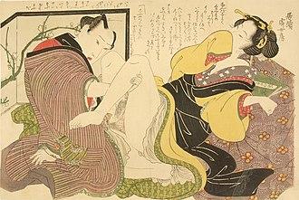 Shunga - Shunga by Keisai Eisen
