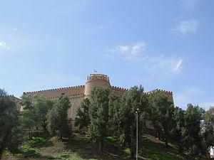 Shush Castle - View Of Shush Castle