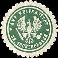 Siegelmarke Amt Wulferstedt Kreis Oschersleben W0209325.jpg