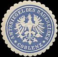 Siegelmarke Amtssiegel des Baukreises Coblenz W0345765.jpg