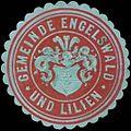 Siegelmarke Gemeinde Engelswald und Lilien W0319843.jpg