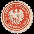Siegelmarke Königlicher Landrath des Kreises St. Goar W0237512.jpg