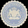 Siegelmarke K. Bayer. Armee-Bibliothek W0383237.jpg