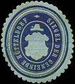 Siegelmarke Siegel der Gemeinde Hütteldorf W0319914.jpg