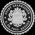 Siegelmarke Stadt Gelnhausen - K. Pr. Prov. Hessen W0312663.jpg
