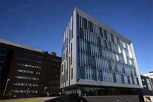 Edinburgh Napier University - Exterior of Edinburgh Napier University's Sighthill Campus