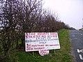 Sign, Hogarth Hill - geograph.org.uk - 391346.jpg