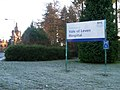Sign at entrance to Vale of Leven Hospital - geograph.org.uk - 1071180.jpg
