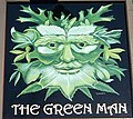 Sign for the Green Man, King's Stag - geograph.org.uk - 1092024.jpg