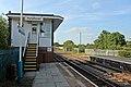 Signal box, Pen-y-ffordd railway station (geograph 4032559).jpg