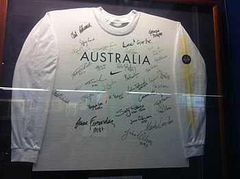 signed white t-shirt
